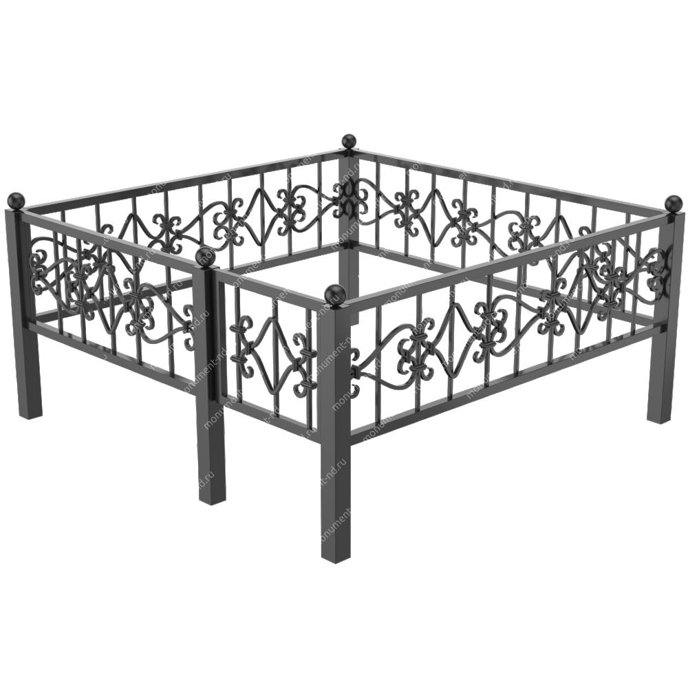 Металлическая ограда - 09