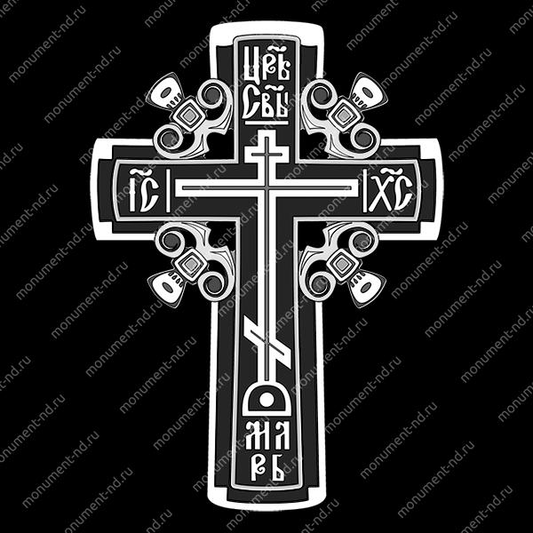 Гравировка Крестика К-029