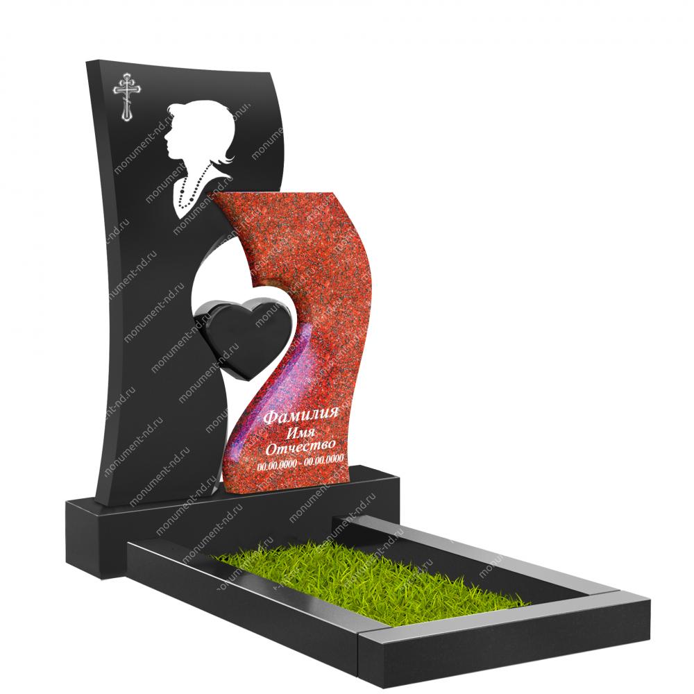 Памятник с сердцем ПС-23