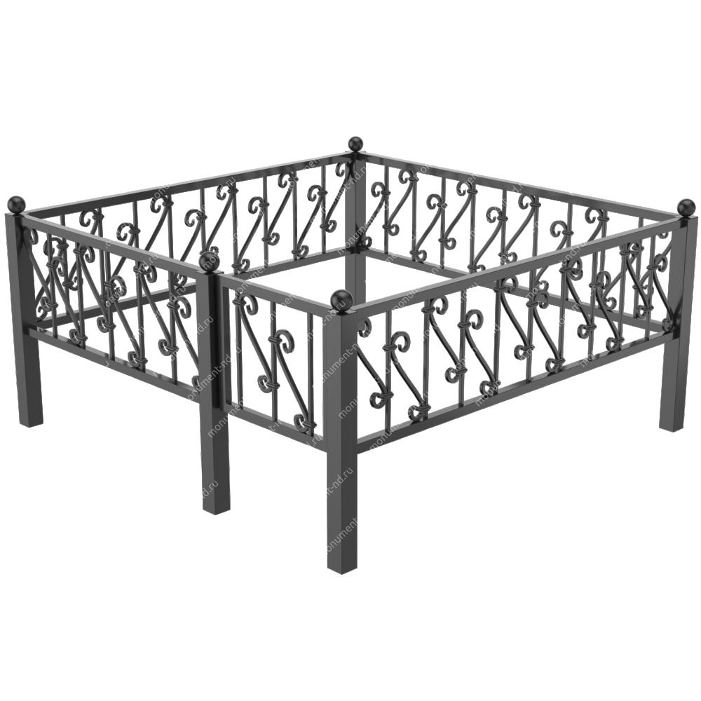 Металлическая ограда - 06