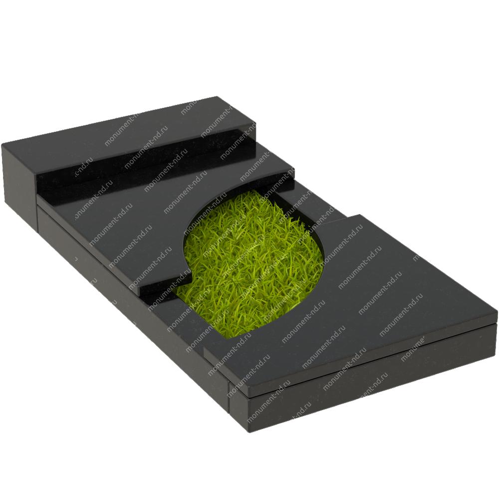 Накладная плита на цветник Цвт-021