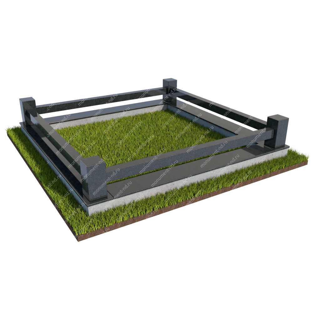 Гранитный цоколь ГРЦ - 004
