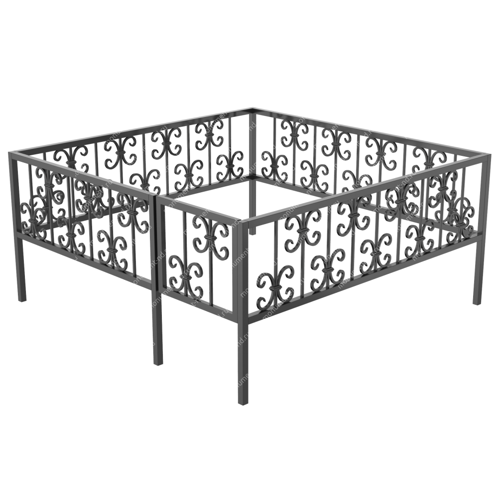 Ограда кованная ОK-40