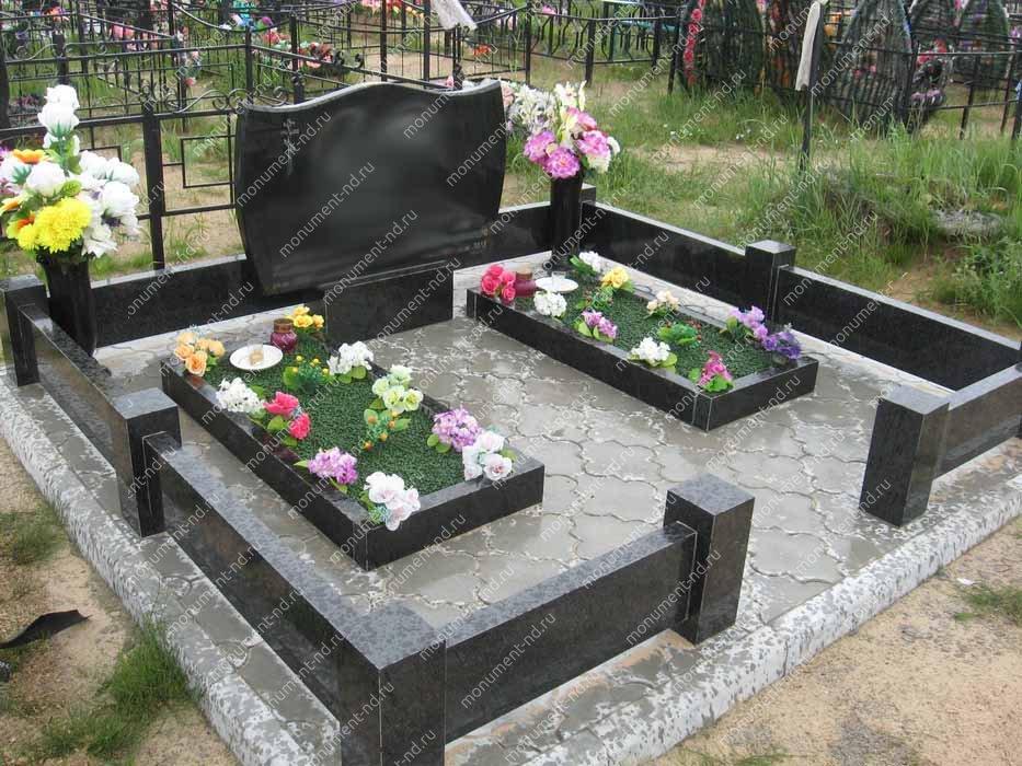 """Мемориальный комплекс НР - 118 """"Под ключ"""" 200х180 см"""