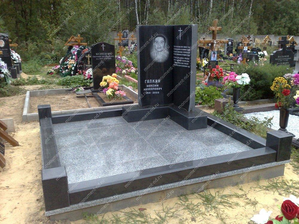 """Мемориальный комплекс НР - 074 """"Под ключ"""" 200х180 см"""