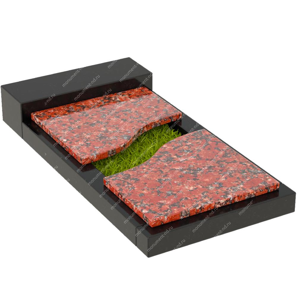 Накладная плита на цветник Цвт-014