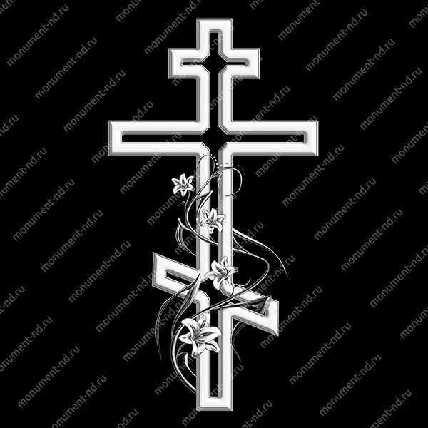 Гравировка Крестика К-015