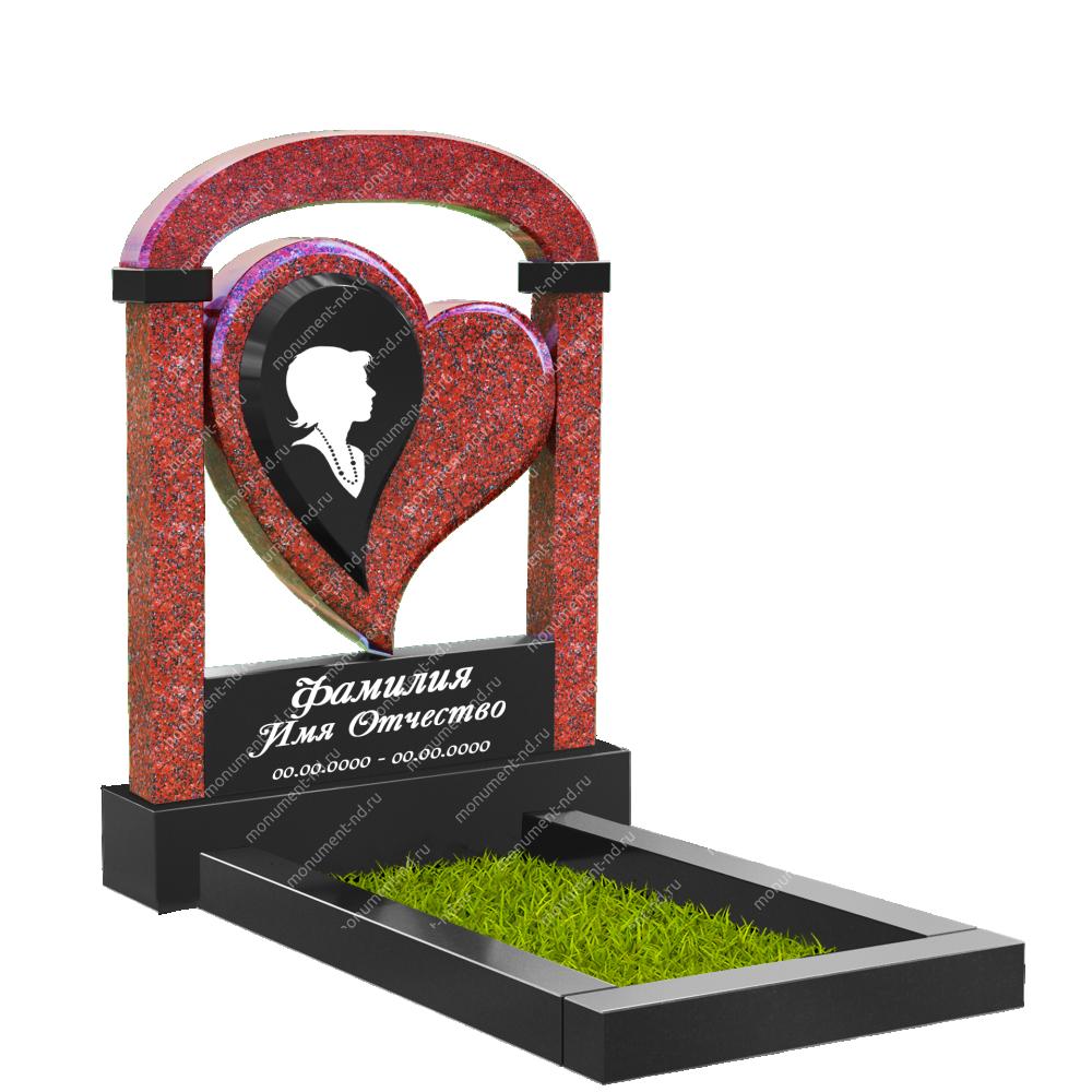 ПС-24 - Памятник с сердцем