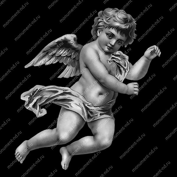 Гравировка ангела А-003 от 25х25 см