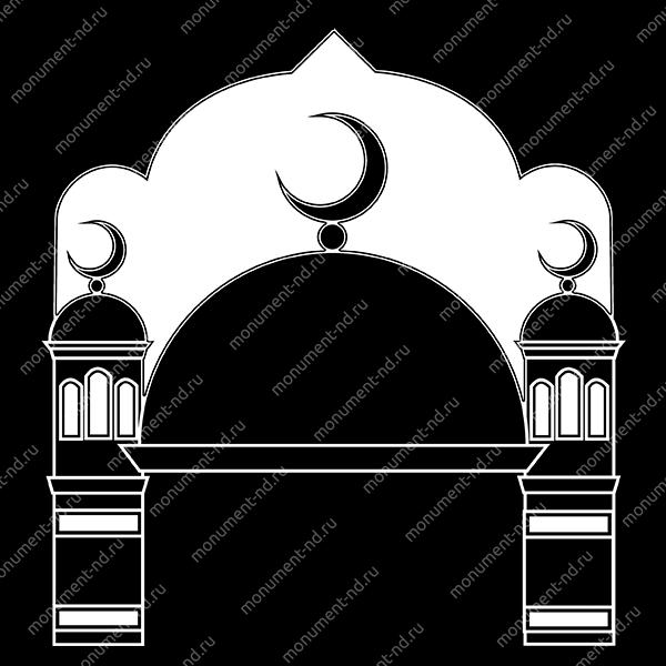 Гравировка Ислам Ис - 025