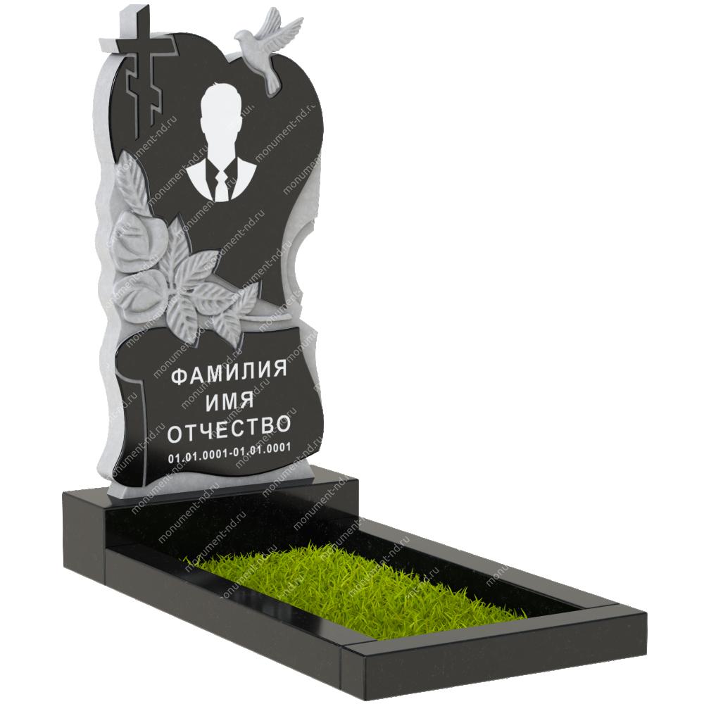 Памятник с сердцем ПС-04
