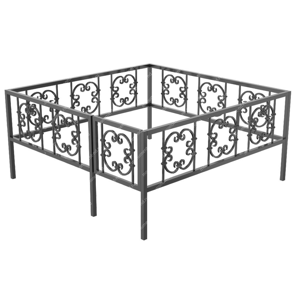 Ограда кованная ОK-34
