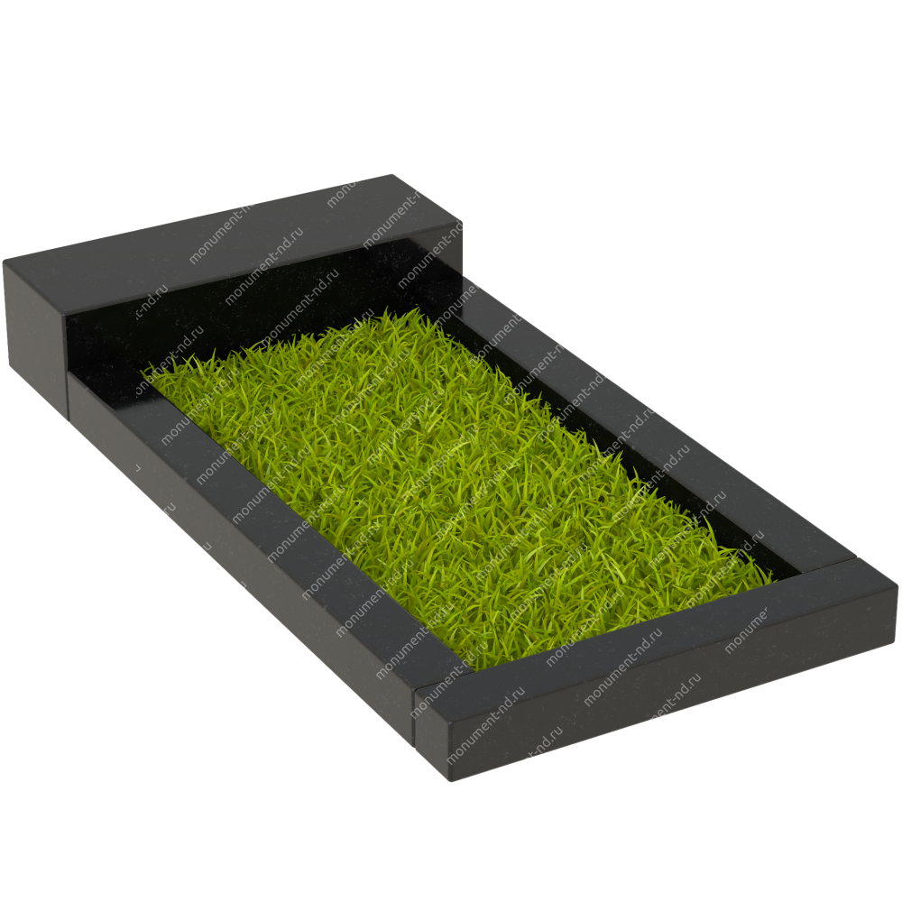Цветник на могилу Цвт-001