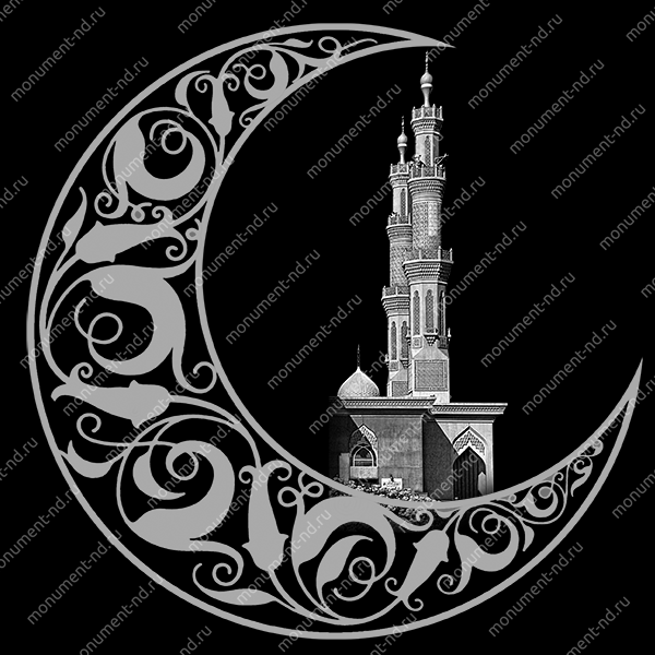 Гравировка Ислам Ис - 052