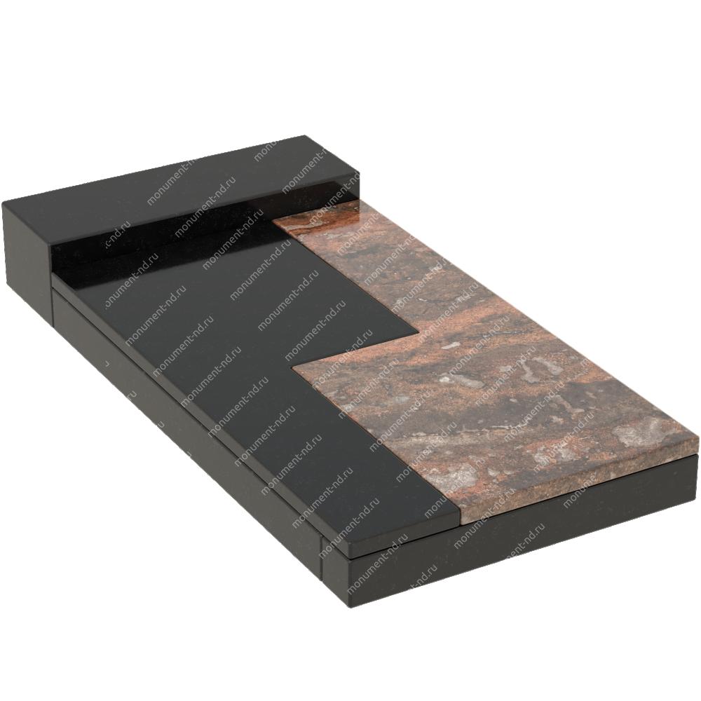 Накладная плита на цветник Цвт-022