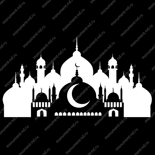 Гравировка Ислам Ис - 003