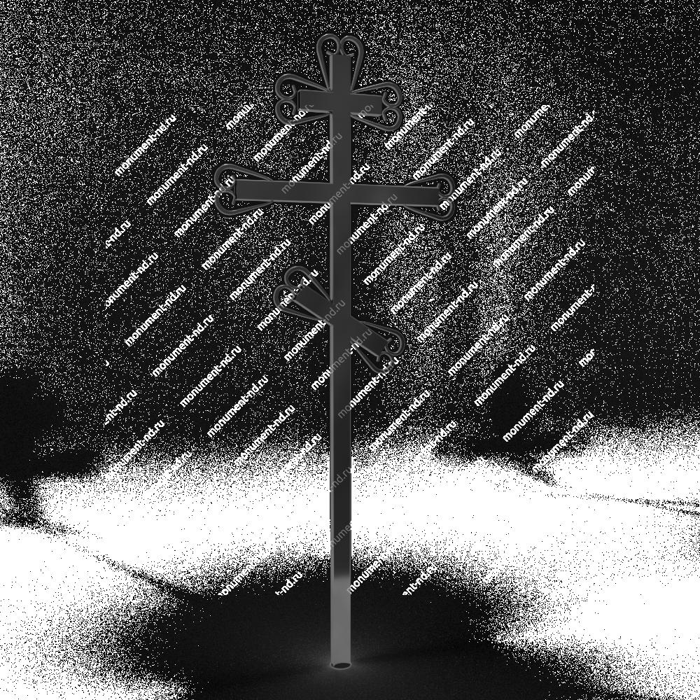 Металлический крест на могилу Кр - 013