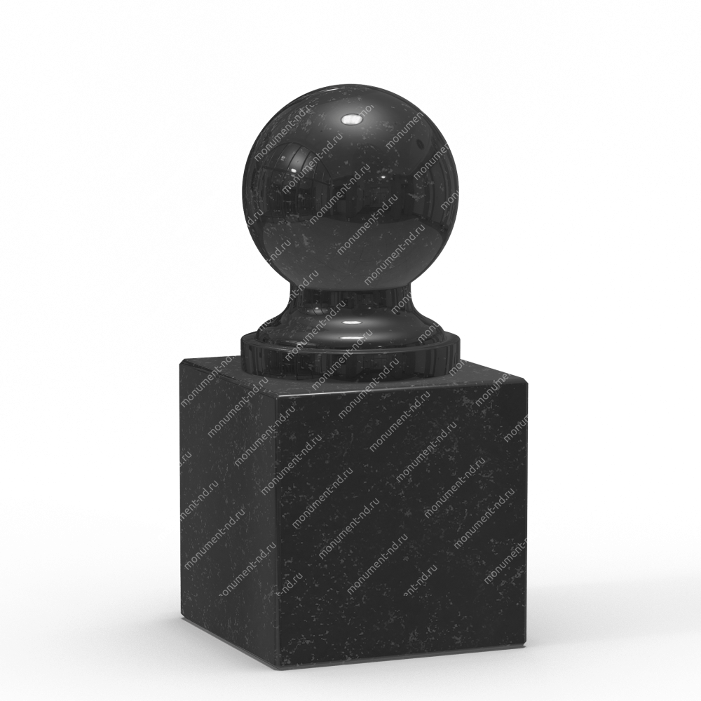 Шар из гранита Ш-002