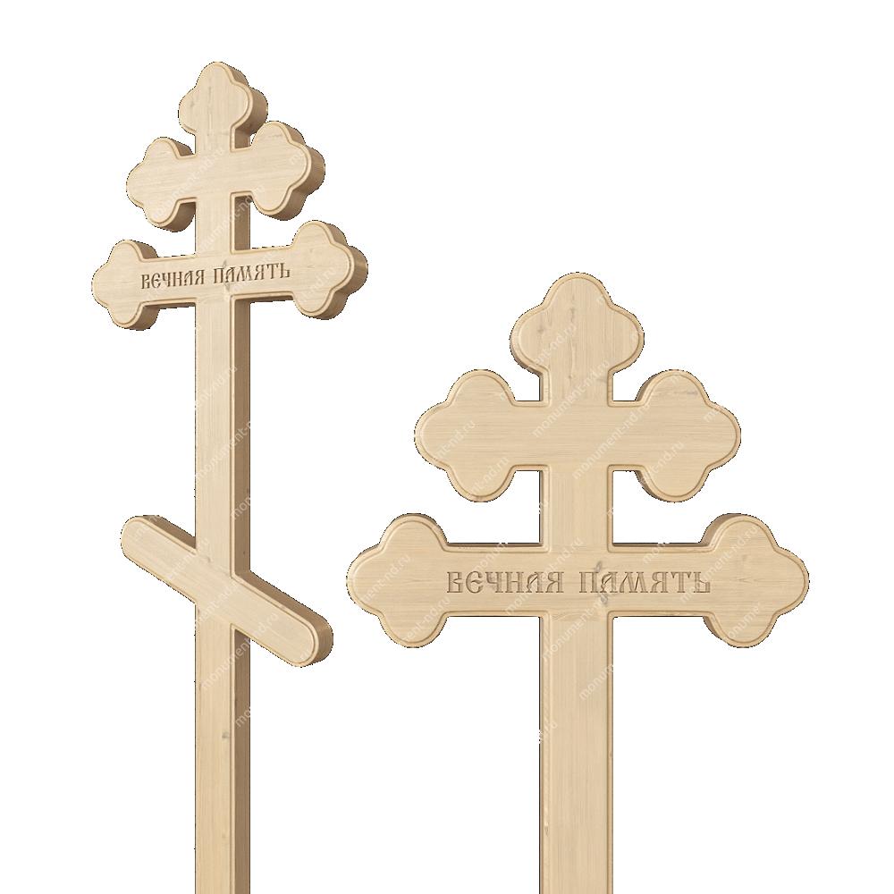 Деревянный крест на могилу ДкС - 005