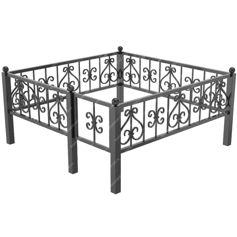 Металлическая ограда - 010