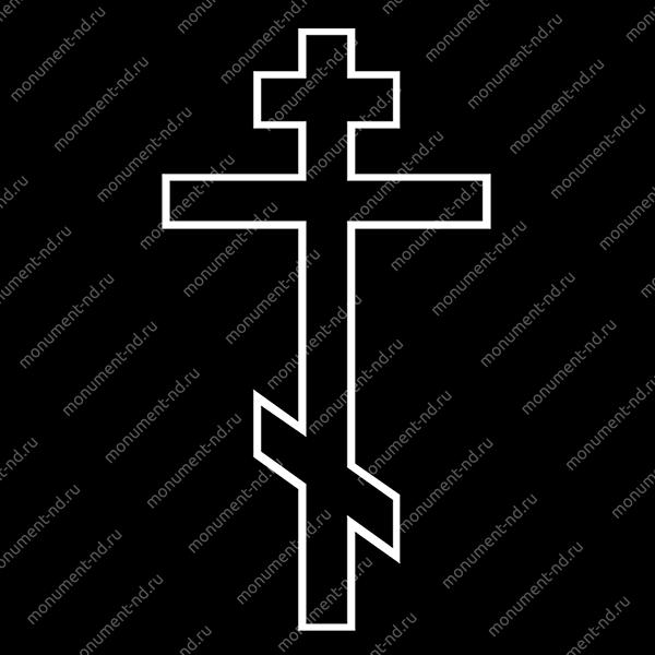 Гравировка Крестика К-001