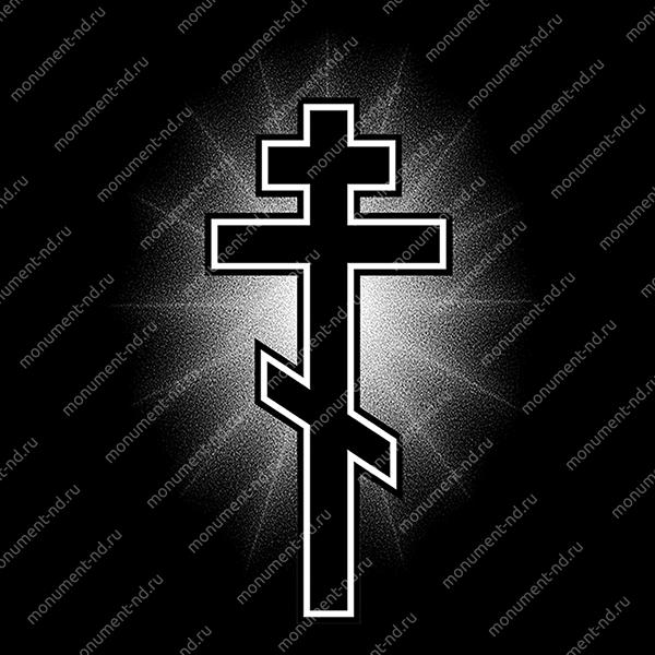 Гравировка Крестика К-024