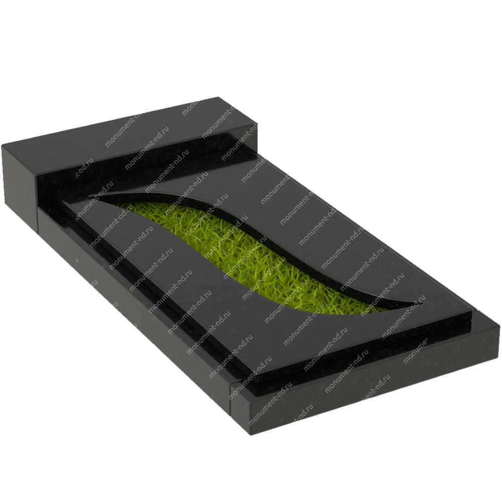 Накладная плита на цветник Цвт-031