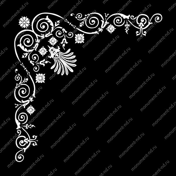Гравировка виньетки - 012