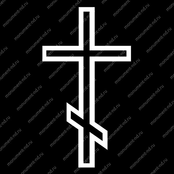 Гравировка Крестика К-032
