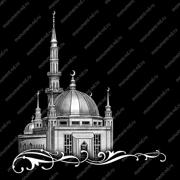 Гравировка Ислам Ис - 033