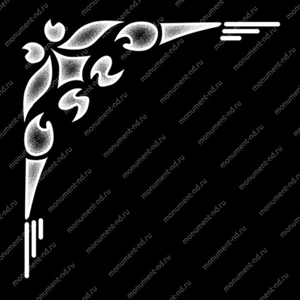 Гравировка виньетки - 001