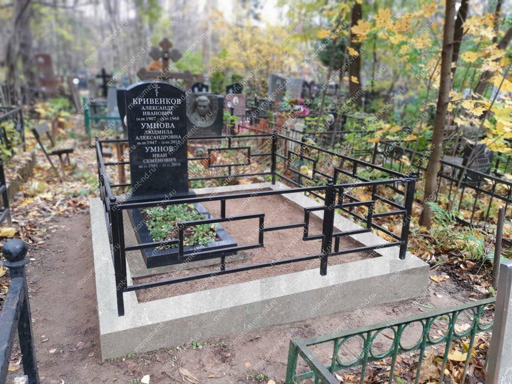 """Мемориальный комплекс НР - 135 """"Под ключ"""" 200х180 см"""