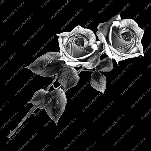 Гравировка цветы Цв-004