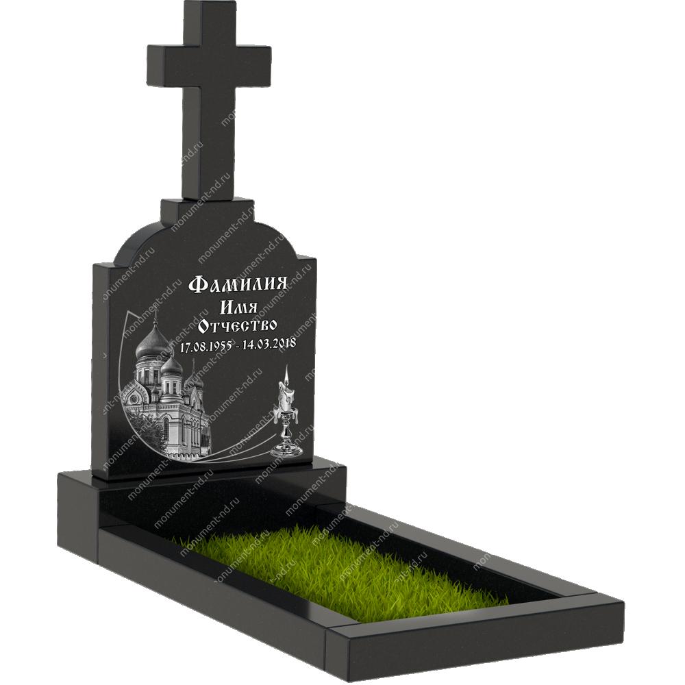Памятник с крестом K-002