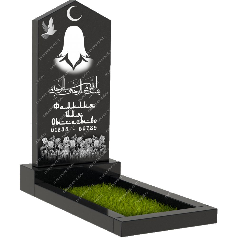 Мусульманский памятник М - 009
