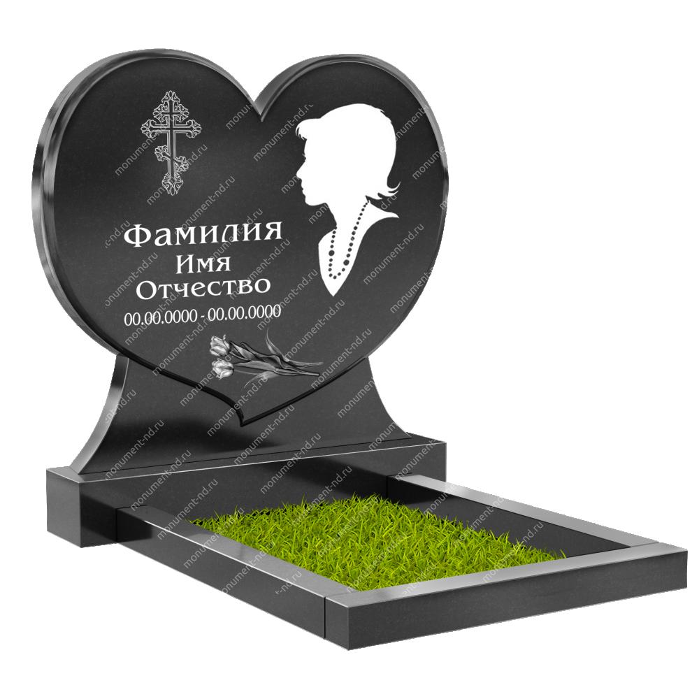Памятник с сердцем ПС-11