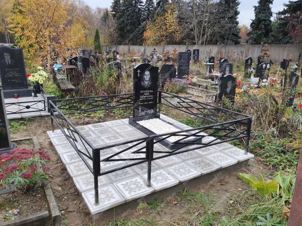 """Мемориальный комплекс НР - 063 """"Под ключ"""" 200х180 см"""