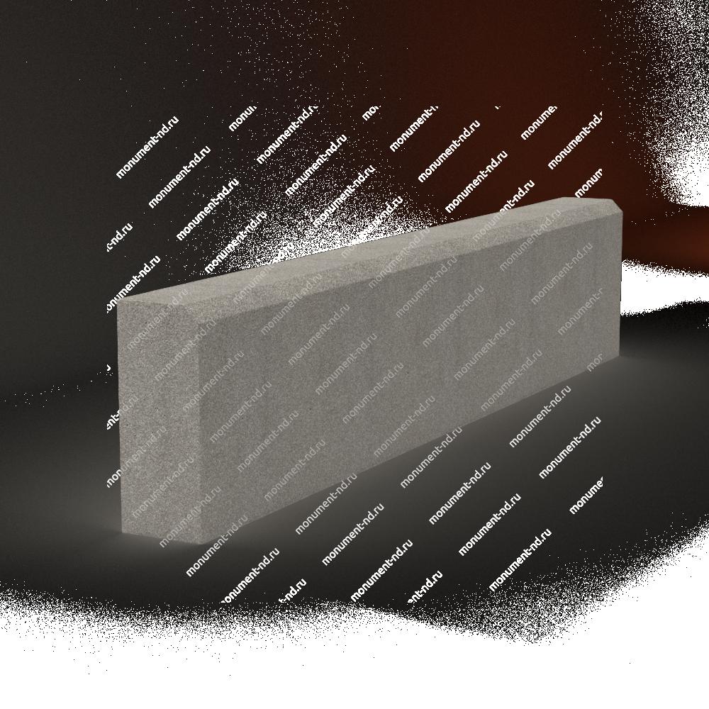 Бордюр на могилу Б-001 Размер:21х100х7 см