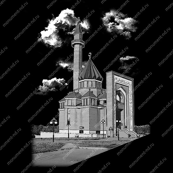 Гравировка Ислам Ис - 028