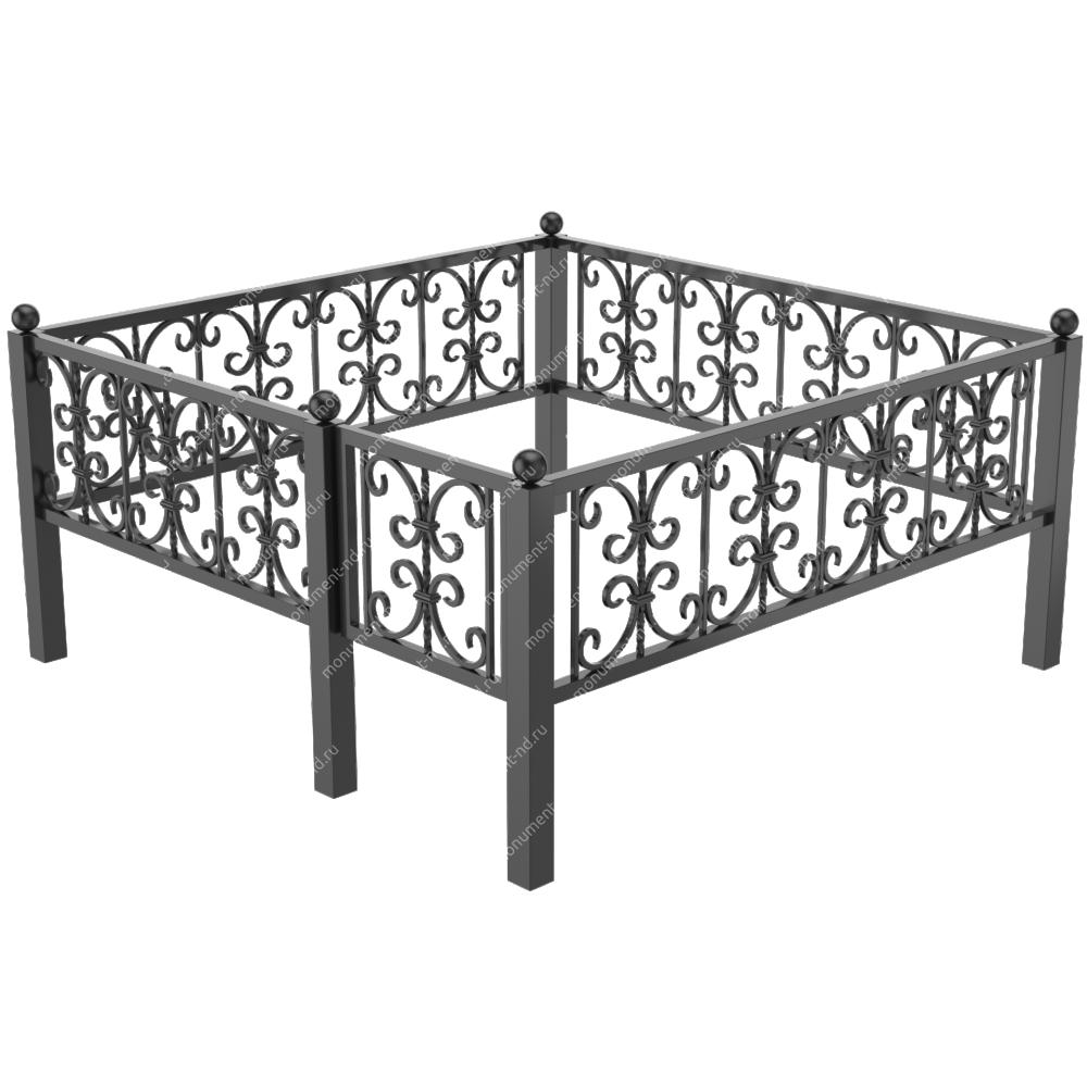 Металлическая ограда - 07