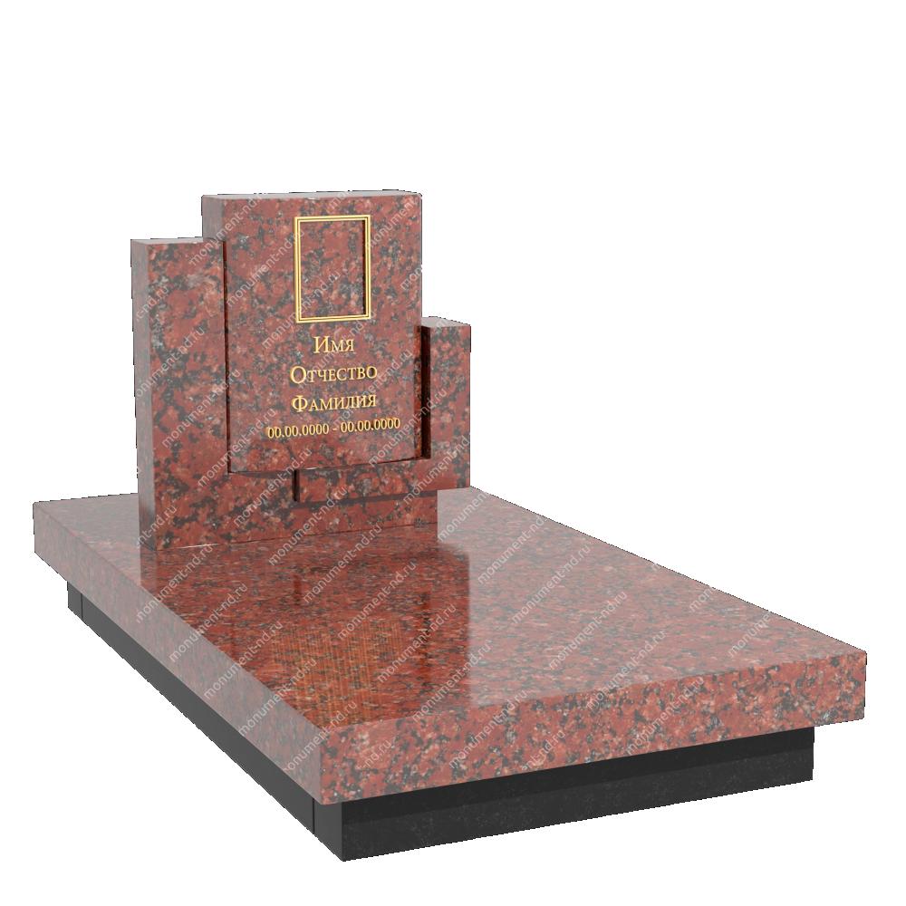 Памятник из цветного гранита - 024