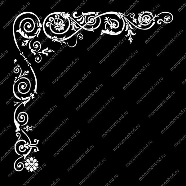 Гравировка виньетки - 014