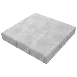 Тротуарная плитка на могилу ТП-03 цвет серый 1 кв.м.