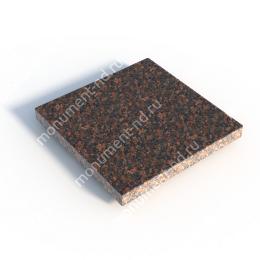 Гранитная плитка ГП-02 цвет коричневый 1 кв.м.