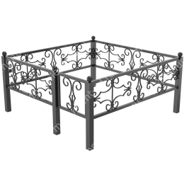 Металлическая ограда - 03