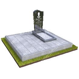 """Мемориальный комплекс Ц-084 """"Под ключ"""" 200х180 см"""