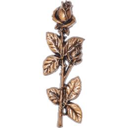 Декор для памятника-022 полимергранит цвет бронза/серебро 27.5х9 см