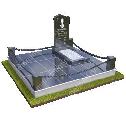 """Мемориальный комплекс Ц-050 """"Под ключ"""" 200х180 см"""
