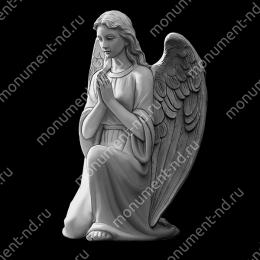 Гравировка ангела А-023 от 25х25 см