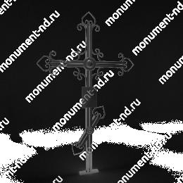 Крест на могилу Кр-009   металл 200х70 см